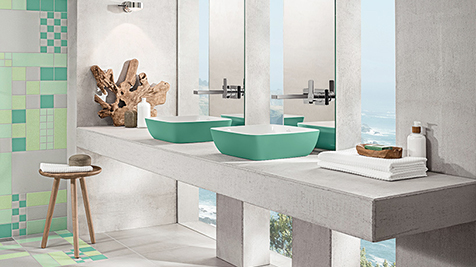 Villeroy & Boch Bath & Wellness - Colour in the bathroom